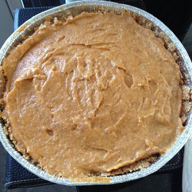 Pumpkin Pie! Yum! Enjoy!