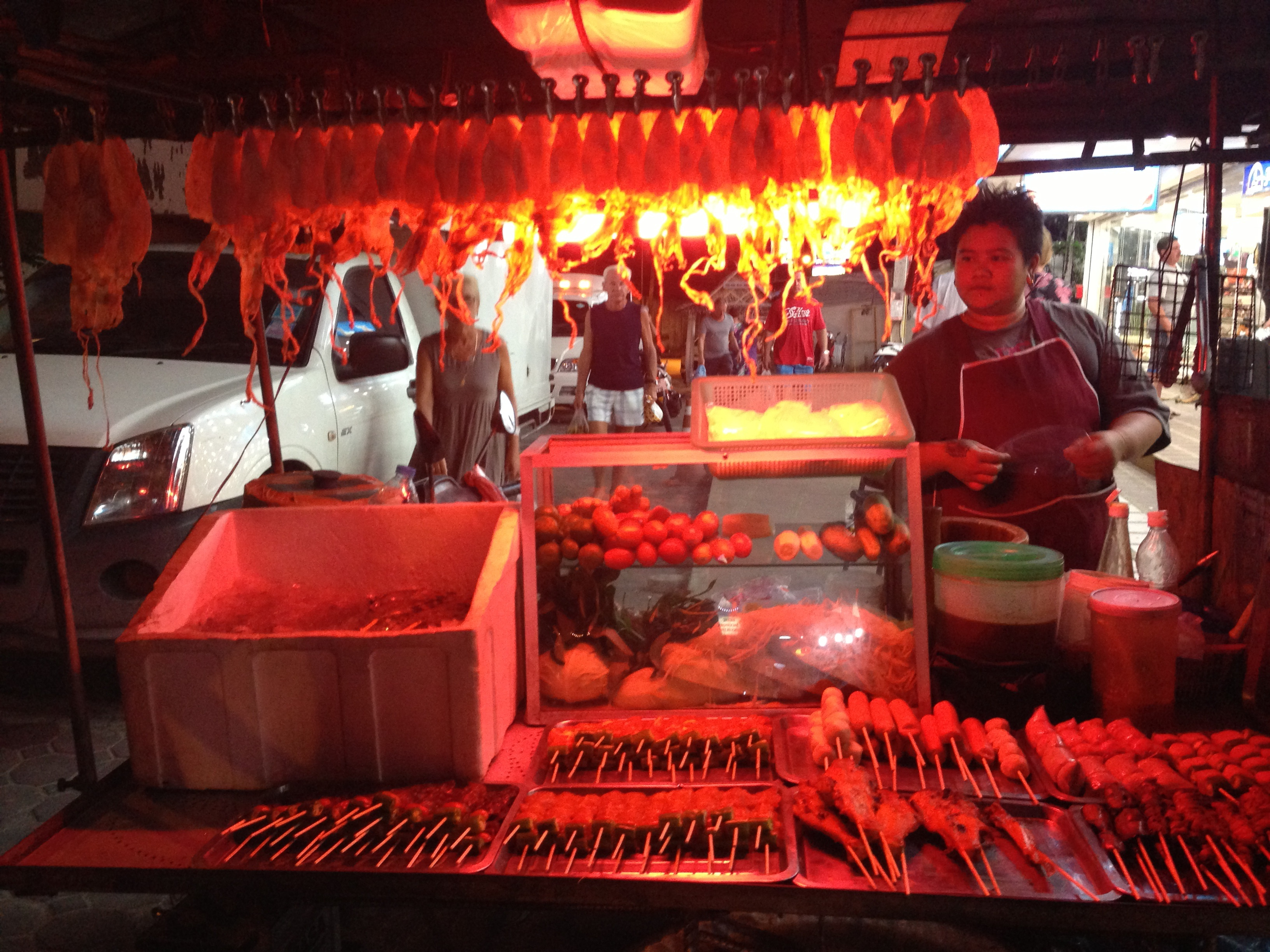thailand island meat lady