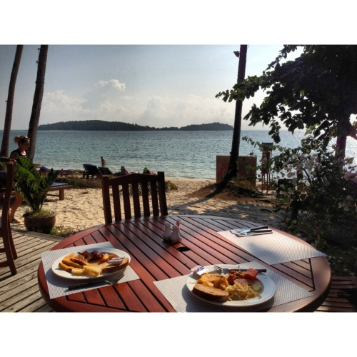 thailand islands breakfast